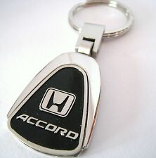 ACCORD KEY CHAIN RING FOB HONDA V6 HYBRID COUPE SEDAN 2015 2016 BLACK NEW