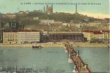 CPA 69 - LYON (Rhône) 44. Le Palais de Justice, Cathédrale St-Jean et le Coteau