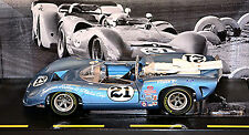 Lola T70 Parnelli Jones #21 Can-Am 1967 blau blue metal 1:18 GMP