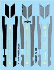 MILSPEC DECALS, 72-005, 1/72 SCALE, F-4 PHANTOM, WALKWAYS & FORMATION LIGHTS