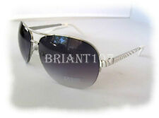 NWT GUESS GUF219 Silver/Purple Womens Sunglasses $80.00