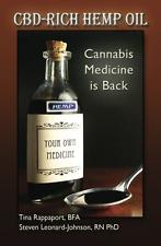 CBD-Rich Hemp Oil Cannabis Medicine Is Back Book Paperback Marijuana Weed Health