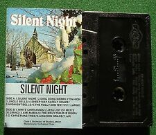 Silent Night Studio London Choir & Orch + Westminster Choir Cassette Tape TESTED