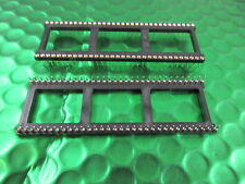 """IC Socket 64 Way HD 0.9"""" / 22.86mm Turned Pin Contact  Gold contacts  3 per sale"""