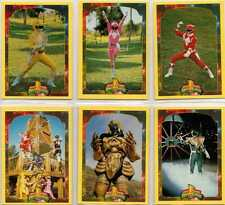 Power Rangers Series 2 Full 72 Card Trading Card Base Set from Collect-a-Card