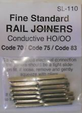 Peco SL-110 HO Code 837570 Conductive Rail Joiner 24 Pack