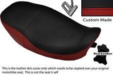 DARK RED & BLACK CUSTOM FITS KAWASAKI ZR 550 ZEPHYR 91-98 DUAL SEAT COVER