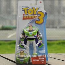 "DISNEY PIXAR TOY STORY 3 MATTEL 5.5"" SPACE WINGS BUZZ LIGHTYEAR POSABLE FIGURE"
