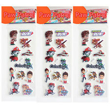 Kids Favours Gift PAW PATROL PUFFY Stickers Party Bag Fillers Party Birthday HOT