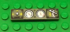 Lego Lot of 10 Gauges Display Electronics Flat Tile Plates Special 1 X 4 NEW