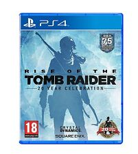 Rise Of The Tomb Raider + Artbook PS4 Neuf sous blister - Envoi Rapide de France