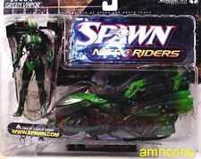 McFarlane Toys Spawn Series 16 Nitro Rider Green Vapor Action Figure New 2000
