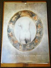 CLASSIC COLLECTIBLE VINTAGE PIRELLI PIN UP CALENDAR 1989 ZODIAC THEME