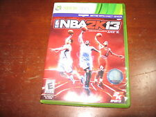 NBA 2K13  (Xbox 360) - Complete in Good Condition!