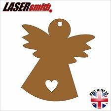 Pack of 2 MDF Angel / Fairy Shapes - ideal for craft, embellishment & decoupage