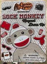Sock Monkey Magnetic Dress Up Kit (Cracker Barrel)