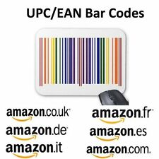 100 UPC EAN Codes Certified Numbers Barcodes For Amazon Ebay Lifetime Guarantee