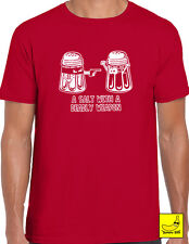 A Salt With A Deadly Weapon Novelty Cooking T-Shirt Chef Christmas Gift Kitchen