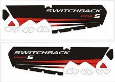 POLARIS tunnel decal GRAPHICS WRAP SWITCHBACK rush 800 600 PRO S AXYS 120 137 1