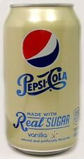 "MT UNOPEN 12oz 355ml Can American ""Real Sugar"" Pepsi Vanilla New Style 2014 USAu"
