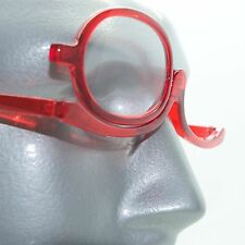 MakeUp Cosmetic Hot Ruby Red Reading Glasses Must Have Beauty Product +0.00