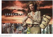 PUBLICITE ADVERTISING 105  2006   LONGCHAMP   sacs  (2p) KATE MOSS