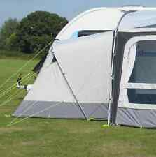 Kampa Annexe for Ace and Rally Poled Awnings - Light Grey