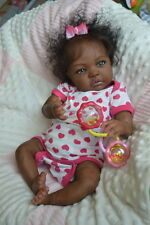 Ooak Reborn newborn real life  baby girl angel   Baby  art doll