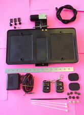 Electric Retractable Flip Up License Plate Frame Holder Wireless Remote