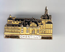 RARE PINS PIN'S .. TOURISME CHATEAU CASTLE PALAIS ILE DE FRANCE CHANTILLY 60 ~CP