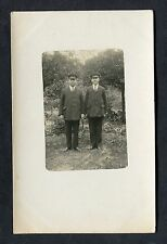 C1910 Photo of Two Men in Uniform & Caps (Civilian).