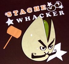 Rare! Stache Wacker - Left For Dead 2 - Video Game T Shirt - 2XL