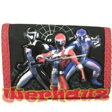 Power Rangers Kids Trifold Wallet, New