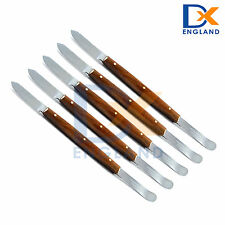 Laboratory Mixing Knife X 5 Wax Knives Plaster Alginate Waxing Carvers Lab Tools
