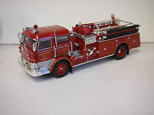 Corgi NORTH TERRYTOWN, NY 1960 mack C Closed Cab Pumper  1:50 Scale MACK TRUCK