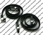 NEW 2 X GENUINE ASUS SATA 3.0 3 6GB 6GBS CABLE Straight 180/180 & 180/90 Degrees