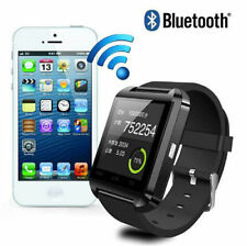 Smart­watch Bluetooth Armbanduhr  für Android Samsung  iOS iPhone schwarz