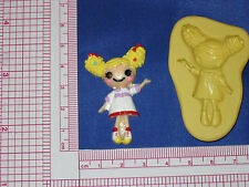 LalaLoopsy Silicone Push Mold Resin Clay Candy Food Bookscraping A487