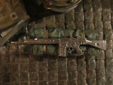 Fusil HK g3 rifle Bundeswehr RC tanques diorama metal decorativas accesorios 1/16