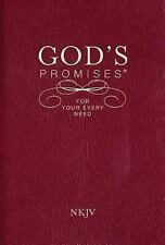 Nelson Bibles New King James - Gods Promises For Your Every N (2008) - New