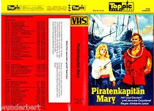 VHS -- Piratenkapitän MARY - (1961) - Lisa Gastoni - Jerome Courtland
