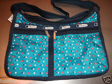 Lesportsac Deluxe Everyday Bag Stargazer Blue Crossbody Purse New with Tags