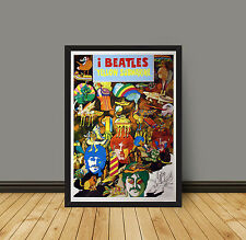 Poster Yellow Submarine Beatles - 70x100 CM