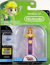 World of Nintendo ~ PRINCESS ZELDA Action Figure ~ Legend of Zelda: Wind Waker