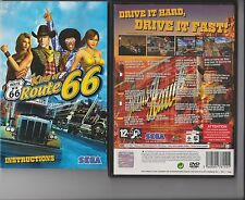 KING OF ROUTE 66 PLAYSTATION 2 PS2  PS 2 SEGA TRUCK RACING GAME