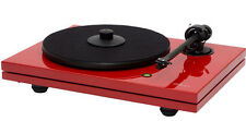 Music Hall MMF-5.3LE Turntable Ortofon 2M Cartridge,Carbon-Fiber Arm (Gloss Red)