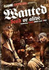THE BEST OF 2PAC AND YOUNG JEEZY MUSIC VIDEOS DVD WANTED DEAD OR ALIVE