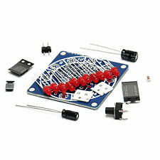 Electronic Lucky Rotary Suite wheel of Fortune DIY Kit Electronic Dice Arduino