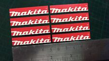 Small Makita Tool Sticker decals x8 toolbox tool box tools workshop drill refurb