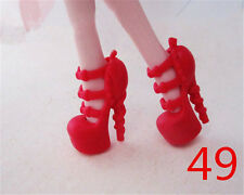 2016 Monster High Doll Accessories Shoes Boots Heels for Children Gift 49#